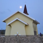 Alto Vista Chapel at Moonrise